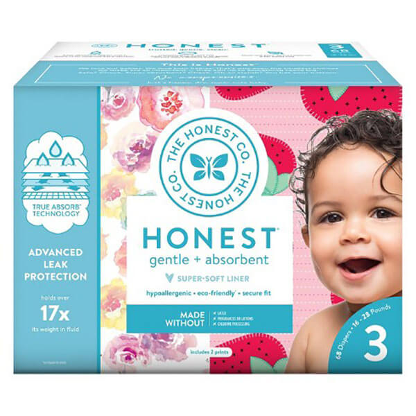 Honest Brand diapers for special needs dogs with diapers