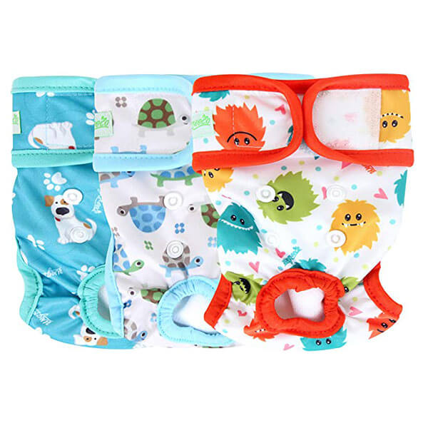 reusable diapers for diaper dogs