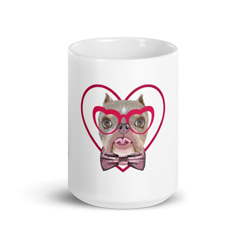Road Dogs and Rescue Ecommerce Shop Atlas Love Mug White Front